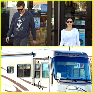 Rachel Bilson Is Driving Around In an RV with Hayden Christensen!