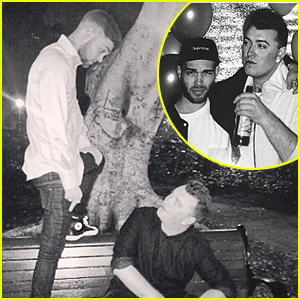 Sam Smith Posts First Pics with New Boyfriend Jonathan Zeizel!