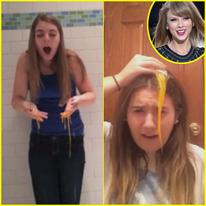 Taylor Swift Fans Crack Raw Eggs On Their Heads to Celebrate Being Followed By Her - Watch Here!