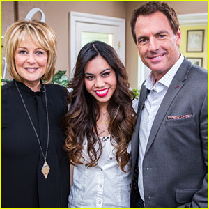 Ashley Argota Chats Up 'The Fosters' On Hallmark's 'Home & Family'