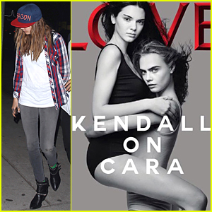 Cara Delevingne & Kendall Jenner Spread 'Love' on New Magazine Cover