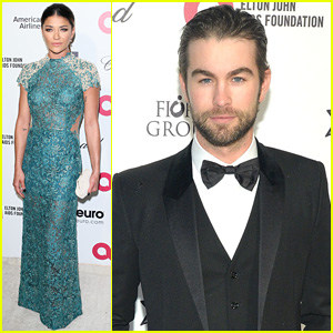 Chace Crawford & Jessica Szohr Turn Post-Oscars Party into a 'Gossip Girl' Reunion!