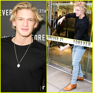 Cody Simpson Serenades Massive Crowd At Forever 21 Store Opening Event