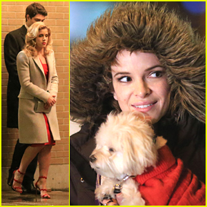 Danielle Panabaker Brings The Cutest Puppy Ever To 'The Flash' Set