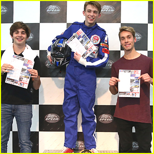 Dylan Riley Snyder Celebrates His 18th Birthday With Nintendo & K1 Speedway - See The Pics!