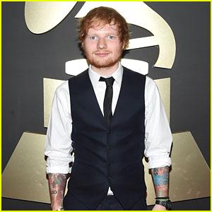 Ed Sheeran is Making Us Swoon at Grammys 2015!