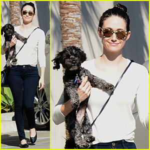 Emmy Rossum Makes Justin Scream 'Stop Hitting Me' - Watch Now!