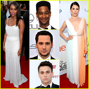 Alfie Enoch & Aja Naomi King Bring 'Murder' to NAACP Image Awards 2015