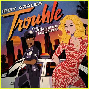 Iggy Azalea & Jennifer Hudson Premiere 'Trouble' Music Video - Watch Here!