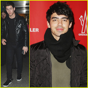 Joe Jonas Takes New York Fashion Week By Storm, While Nick Travels Abroad
