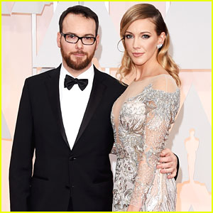 Katie Cassidy Joins Boyfriend Dana Brunetti For Oscars 2015