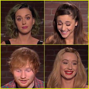 Katy Perry & Ariana Grande Read Mean Tweets on 'Jimmy Kimmel Live' - Watch Now!