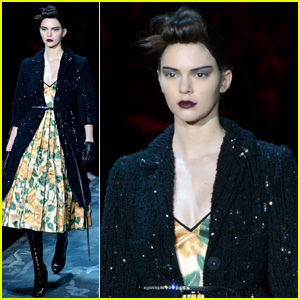 Kendall Jenner Makes a Statement on Marc Jacobs Catwalk at NYFW
