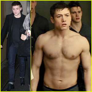 Taron Egerton Is Shirtless in New 'Kingsman' Clip!