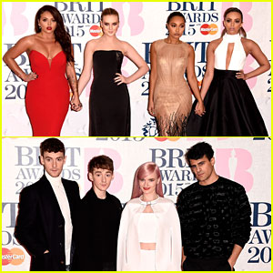 Little Mix Wow at BRIT Awards 2015 with Clean Bandit