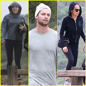 Miley Cyrus Takes a Hike with Patrick Schwarzenegger & Nicole Richie