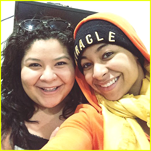 Raini Rodriguez Gets Starstruck Over Raven Symone - See The Cute Selfie!