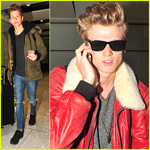 The Vamps Land in London After Pranking Connor Ball With Surprise Haircut!