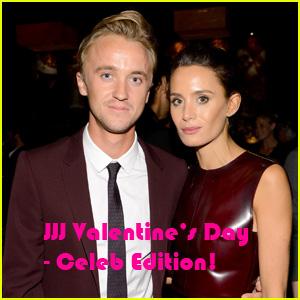 JJJ Valentine's Day: Tom Felton Reveals Plans with Girlfriend Jade Olivia (Exclusive)