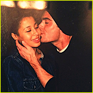 Zac Efron Plants a Kiss on Girlfriend Sami Miro in Cute Pic!