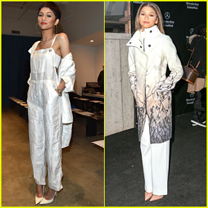 Zendaya Continues to Rule Fashion Week After Bobby Brackin's 'My Jam' Drops