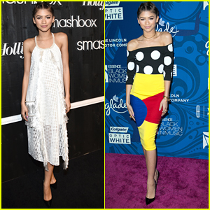 Zendaya Makes A Quick Change For Pre-Grammy Parties - See Her Hot Looks Here!
