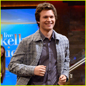 Ansel Elgort Talks About His Stellar Basketball Skills on 'Kelly & Michael' - Watch Now!