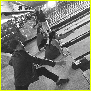 Ross Lynch, Laura Marano, Raini Rodriguez & Calum Worthy Celebrate KCAS Win By Bowling!