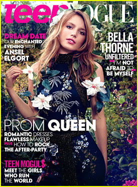 Bella Thorne Achieves Dream Of Being on 'Teen Vogue' - See Her Cover Here!