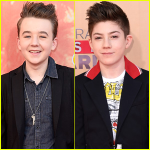 Benjamin Stockham & Mason Cook Hit Up the iHeartRadio Music Awards 2015