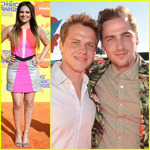 Bethany Mota Vlogged On Stage At the KCAs 2015 with Kendall Schmidt