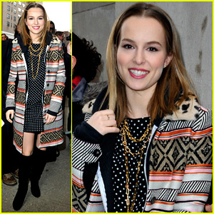 Bridgit Mendler Says She Can Be a 'Big Nerd'