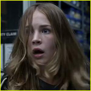 Britt Robertson Receives Huge Shock in 'Tomorrowland' Trailer - Watch Now!