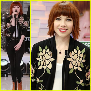 Carly Rae Jepsen Brings Some Fun to 'GMA' with 'I Really Like You'  - Watch Now!
