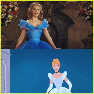 The New 'Cinderella' Trailer Meets The Animated One - Watch The Magic Unfold Here!