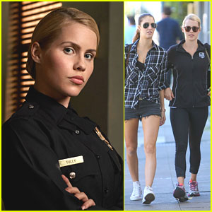 Claire Holt Transforms Into Police Officer For NBC's 'Aquarius' - See The Pics!