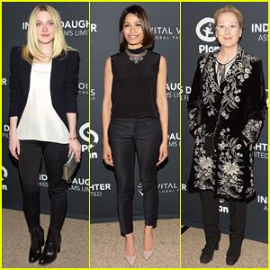 Dakota Fanning & Freida Pinto Support 'India's Daughter' Doc at New York Screening!