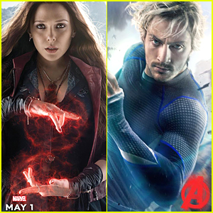 Elizabeth Olsen Channels Scarlet Witch in 'Avengers: Age of Ultron' Character Poster