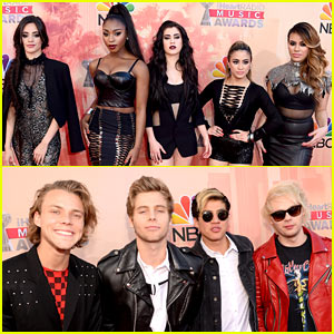 Fifth Harmony Hits iHeartRadio Music Awards 2015 with 5 Seconds of Summer!