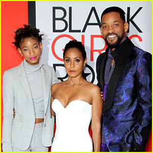 Willow Smith Supports Mom Jada at Black Girls Rock!
