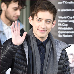 Kevin McHale Gets Ready To Say Goodbye to 'Glee' In London