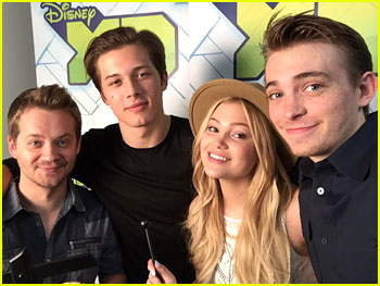 Olivia Holt & Leo Howard Say Goodbye To 'Kickin' It' - Read Them Here!