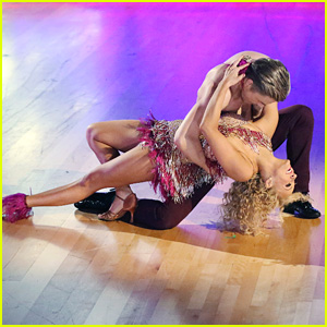Nastia Liukin Sambas With Shirtless Derek Hough on 'DWTS' - See the Pics!