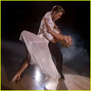 Nastia Liukin & Derek Hough Rumba on 'DWTS' - Watch Now!