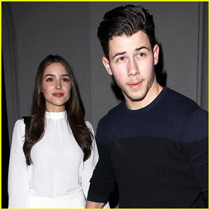 Nick Jonas & Olivia Culpo Have a Sunday Date Night!