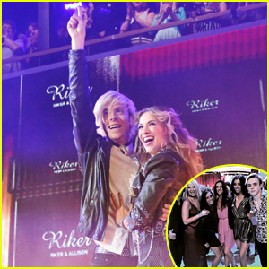 R5 & Family Support Riker Lynch at 'DWTS' Premiere - See the Pics!