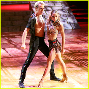 Riker Lynch Gets His Shirt Ripped Open During Sexy 'Dancing With the Stars' Salsa
