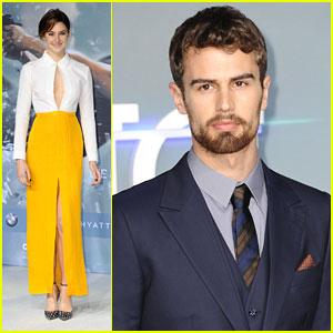 Shailene Woodley & Theo James Premiere 'Insurgent' In Berlin - See The Pics!