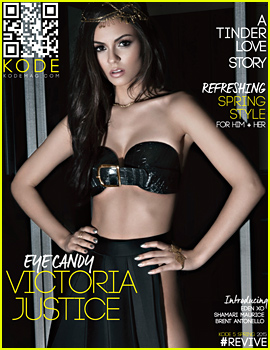 Victoria Justice Bares Her Midriff For 'Kode' (Exclusive)