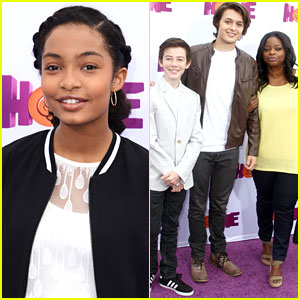 Octavia Spencer Brings Us Another 'Red Band Society' Reunion at 'Home' Premiere